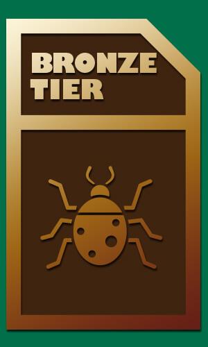 pest control bronze tier