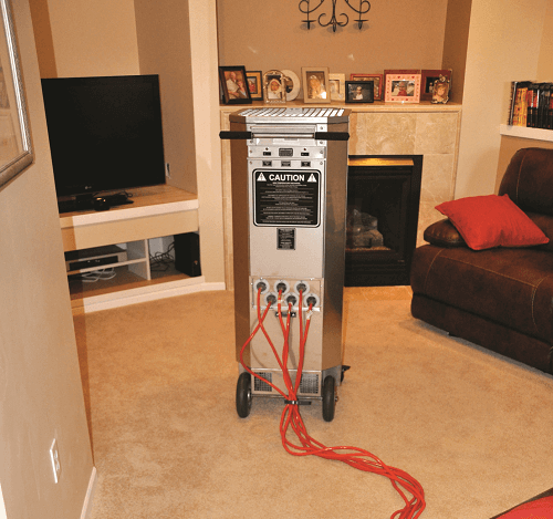 bed bug heat treatment machine