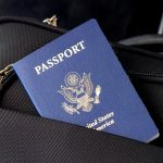passport in bag